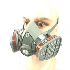 3M 6200 chemical mask gas