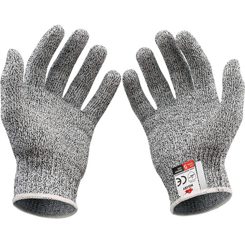Anti-cut Construction Gloves PU Coated Cut Resistant Work Gloves Level 5 Anti Cut Gloves
